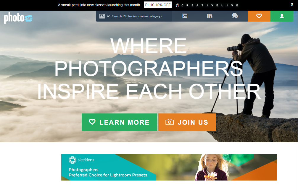 best free photo sharing site photo.net