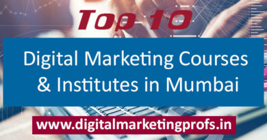 Top 10 Digital Marketing Courses and Institutes in Mumbai
