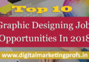 Top 10 Graphic Designing Job Opportunities In 2018