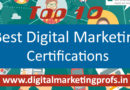 Top Best Digital Marketing Certifications