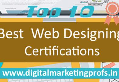 Top Best Web Designing Certifications
