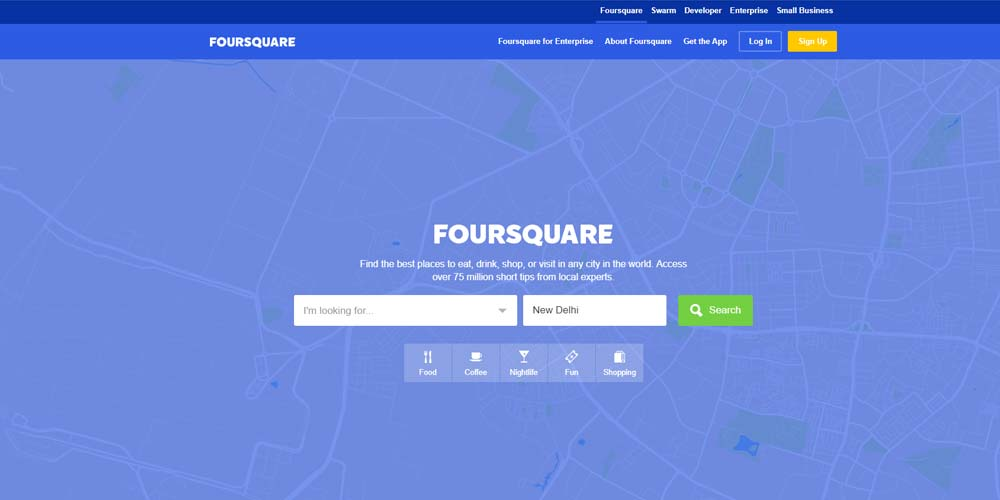 top 20 social media sites list foursquare